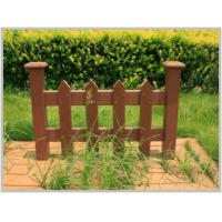 Quality WPC Fence for Landscaping Ornament /External Landscaping Timber/wpc fence for sale