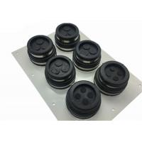 Quality SUS304 PP Rubber Material Cable Entry Boots Base Station Feeder Window for sale