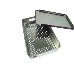 Buy cheap Pencil Metal Tin Box Tin Metal Lunch Box Handle Metal Soap Tin Box Rectangle Tin from wholesalers