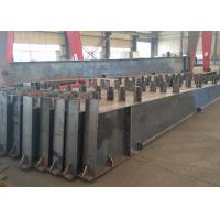 Roof Metal Support Beam , Castellated Building Steel Beams In H Shape for sale