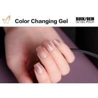 Quality Eco - Friendly Mood Changing Gel Nail Polish Acrylic Resin Ingredients for sale