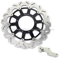Quality 320mm Oversize Custom Motorcycle Brake Rotors , Wave Floating Motorcycle Disc for sale