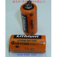 Quality Sanyo  CR17335  Lithium Battery  with weld leg3V for PLC &CNC Machine for sale