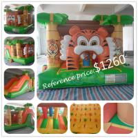 Quality Inflatable Tiger Obstacle Course for sale