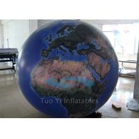 Quality Durable Inflatable Globe Ball Giant Event Custom Advertising Inflatables for sale