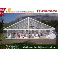 China Waterproof  Clear Span Tent Aluminum Frame Structure For Outdoor Restaurant on sale