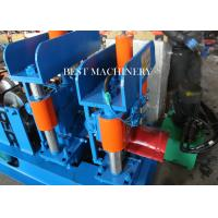 Buy Cold Roll Color Steel Metal Roof Ridge Cap Forming Machine hydraulic Cutting type at wholesale prices
