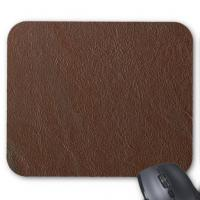 Quality Genuine Leather Mouse Mat Custom Mouse Pad for sale