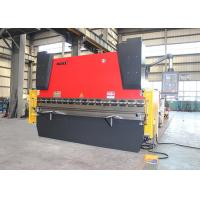 Quality 37KW Main Power Press Brake Sheet Metal Cutting And Bending Machine Heavy Weight for sale