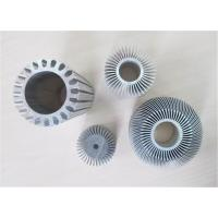 Quality Clear Anodizing Hollow Aluminum Sun Flower Extrusion Sink Agricultural for sale