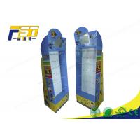 Quality Phone Accessory Pop Up Cardboard Display , Cardboard Display Stands With Hook for sale