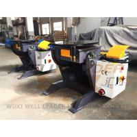 Buy 24 Inch Table Rotary Welding Positioner Manual Tilting Motorized Rotation at wholesale prices