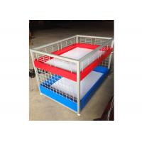 Quality Commercial Two Layers Mobile Promotion Display Counter Four Feet For Supermarket for sale