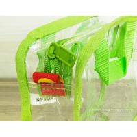 Buy Simple Girl Transparent PVC Cosmetic Bags Clear Vinyl Travel Kit at wholesale prices