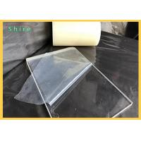 Quality Transparent Plastic Sheet Protective Film For Plactic Board / PVC PE Protection Film for sale