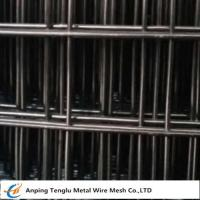 Buy cheap Black Welded Wire Mesh  Made by Low Carbon Wire 12bwg~27bwg with 1/4
