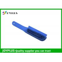 Quality Customized Color Rubber Dog Brush , Dog Cat Cleaning Brush TPR Material PC0330 for sale