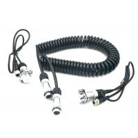 Quality TPU TPE 7 Pin Spiral Power Cable Curly Connection Cable For Car Rear View System for sale