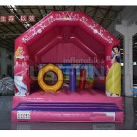 Quality China air commercial princess inflatable bounce house castle for sale cheap price for sale