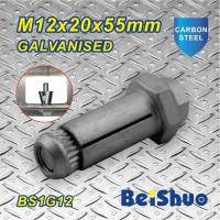 Carbon steel  Zinc plated Hot dip Galanised Expansion Hex Anchor Bolt Grade 8.8 for sale