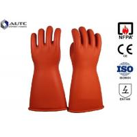 Quality Acid Protection Dupont PPE Safety Gloves , Fire Safety Hand Gloves For Hazardous Chemicals for sale