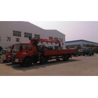 Quality 12T Dongfeng 6x2 Cargo Crane truck for sale