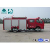 Quality Dongfeng 2 Tons 290 Hp Water Tank Fire Truck For Fire Control Or Sprinkling for sale