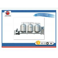 Quality 6KW CIP Cleaning System For Water  Single Tank Double Cans 3000 * 1400 * 2000mm Customized for sale