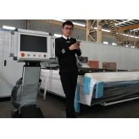 Quality High Speed CNC Fiber Metal Sheet / Stainless Steel Laser Cutting Machine for sale