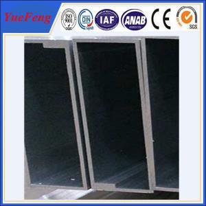 Quality Hot! aluminium profile tube manufacturer,  square aluminum profile for sale