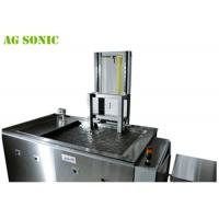 Quality SUS304/SUS316L Automotive Ultrasonic Cleaner to Rims with Pneumatic Lift 360L 28K for sale