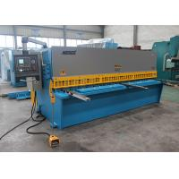 Buy EU Streamlined Design Iron Hydraulic Shearing Machine Multi - Edge Blades 25mm 3.2m at wholesale prices