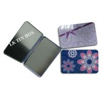 Protect Packaging Small Tin Box For Women Sanitary Pad Tampax Compak