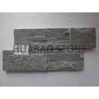 Quality Chinese Black Cultured Stone Panels Custom For Indoor Outdoor Garden Wall for sale