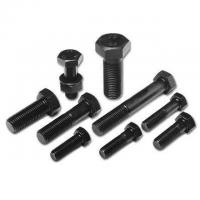 Quality Customized Color High Strength Fastener , Engineering Double Hexagon Head Bolt for sale