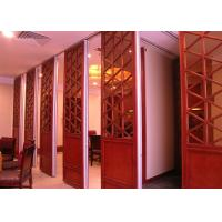 Quality Room Dividers Hanging Sliding Door Operable Wall For Banquet Wedding Facility for sale