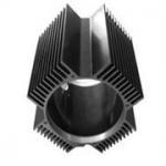Quality Hollow Aluminum Extrusion Extruded Aluminum Heatsink 6000 Series T5 T6 for sale