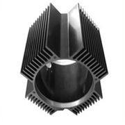 Quality Hollow Aluminum Extrusion Extruded Aluminum Heatsink 6000 Series T5 T6 for sale