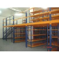 Quality Removable Attic Mezzanine Racking System Cold Roll Steel Without Any Nuts / Bolts / Tools for sale