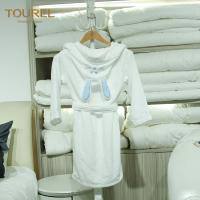 Quality 5 Star Hotel Quality Bathrobes / Girls Soft Robe Fit Spring And Autumn for sale
