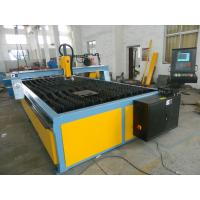 Quality CNC Oxy Double Drive Plasma Cutting Machine With One Plasma Gun Table Cutting for sale