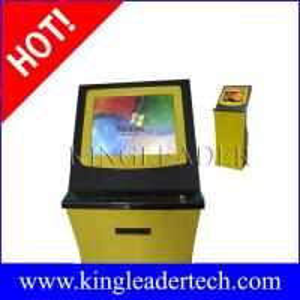 China Ticket vending kiosks thermal printer and finger print reader   custom kiosk design on sale