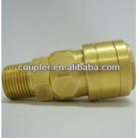 Buy Brass NITTO Air Quick Coupler With Male Thread at wholesale prices