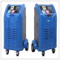 Quality Database Auto AC Recovery Machine SD Card Automatic Oil Injection for sale
