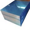 Blue Color Coated Flat Aluminum Sheet ,  0.1mm - 500mm Width Aluminum Plate for sale