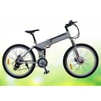 Quality 50 Pounds Folding Electric Bike 26 Inch Folding Electric Bicycles With Disc Brake for sale