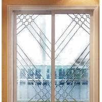 Quality stained glass for silding door for sale