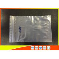 Quality OEM Resealable Clear PE Zip Lock Plastic Bags And Top Lip With Eco - Mark for sale