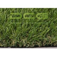 Quality Apple Green Outdoor Artificial Grass 13000 Dtex High Ruggedness Without Sand for sale