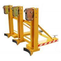 Quality four oil drum folk lift trolley for sale